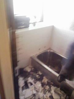 坂本邸浴室工事2